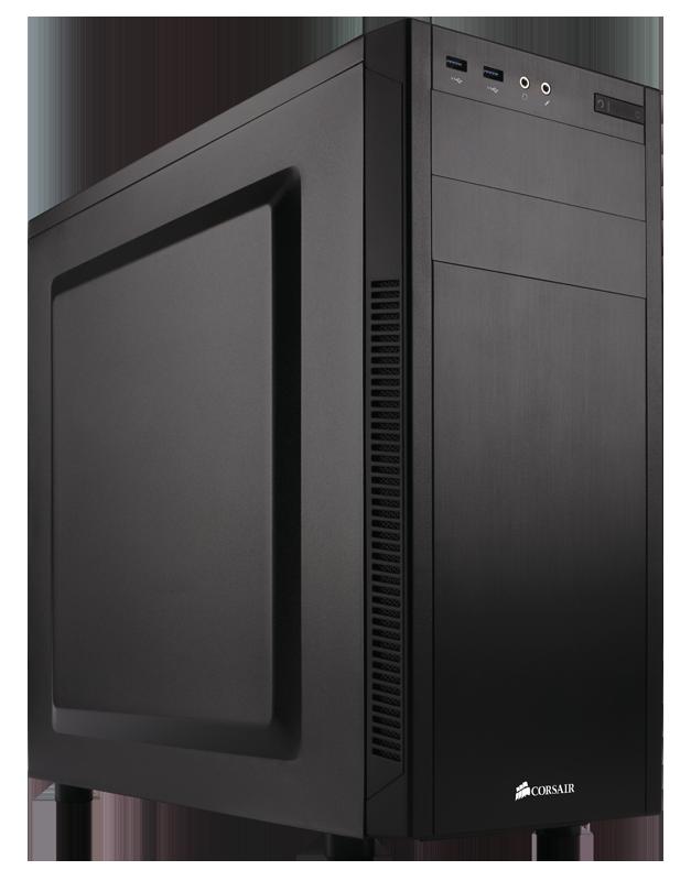 Black Computer Tower Case